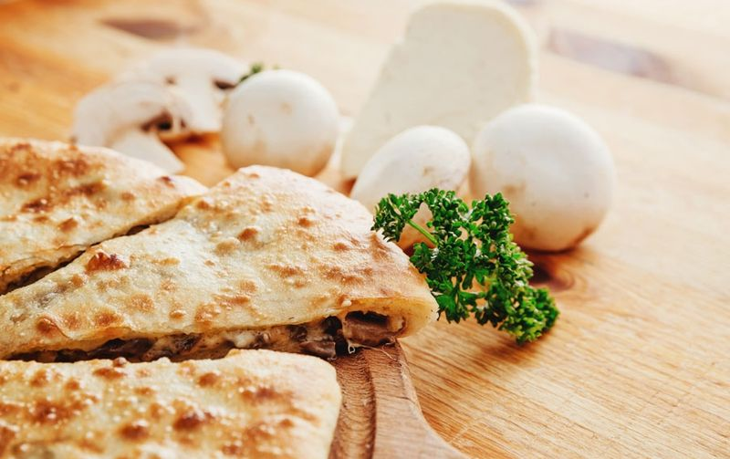Рецепт осетинского пирога с грибами